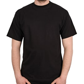 Sour Solution Embroidered T Shirt - Black
