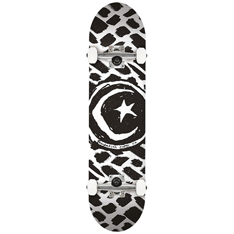 Foundation Star & Moon Stokes Complete Skateboard - 8.0""