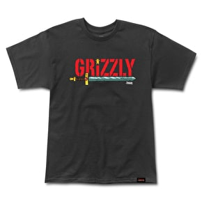 Grizzly Adventure Time - Grizzly Time T-Shirt - Black
