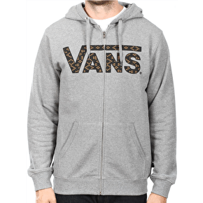 Vans Classic Zip Hoodie - Concrete Heather/Native Geo
