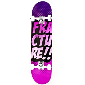 Fracture Skateboard - Comic VT Purple 7.75