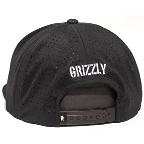 Grizzly OG Bear Tech Mesh Trucker Cap - Black