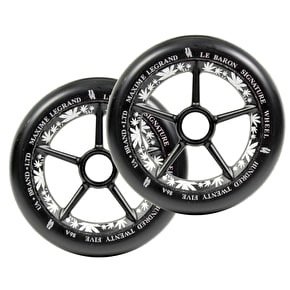 UrbanArtt 125mm Le Baron Wheels - Black/Black