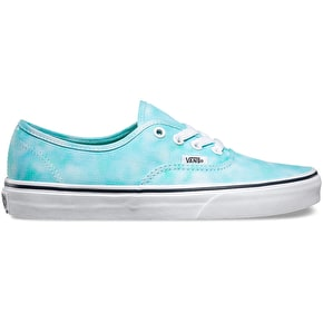Vans Authentic Shoes - (Tie Dye) Turquoise