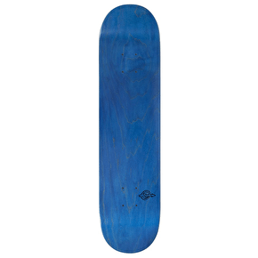Voltage Stained Skateboard Deck - Blue