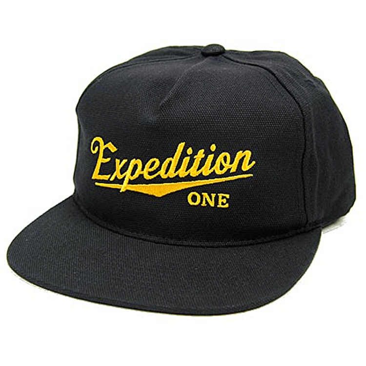 Expedition One Tilt Snapback Cap - Black