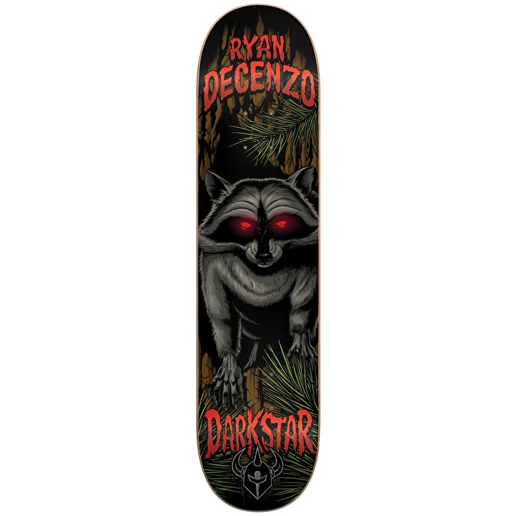Darkstar Skateboard Deck - Raccoon R7 Decenzo 8.125""