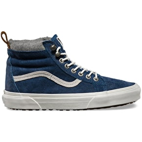 Vans Sk8-Hi Shoes - (MTE) Denim Suede/Blue