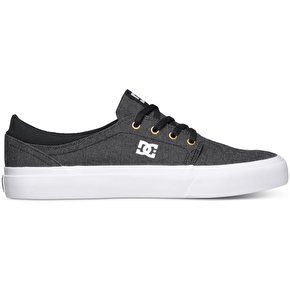 DC Trase TX SE Shoes - Black/White/Gold