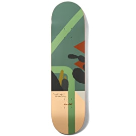 Chocolate Hecox Tropical Studies Skateboard Deck 8