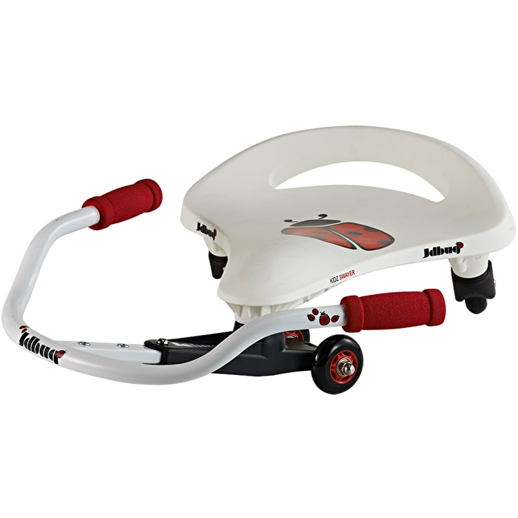 JD Bug Kids Swayer Balance Board - White/Red