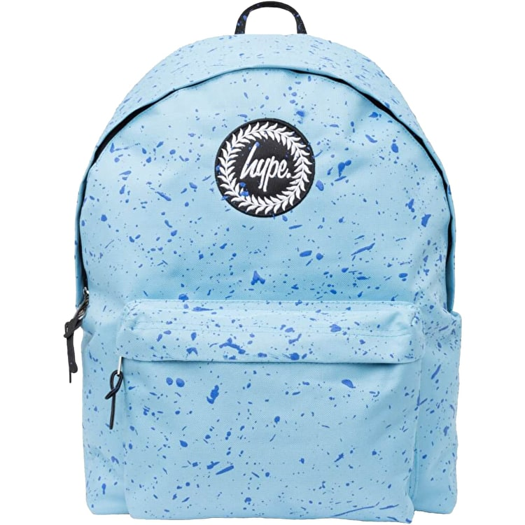 Hype Speckle Backpack - Baby Blue/Navy