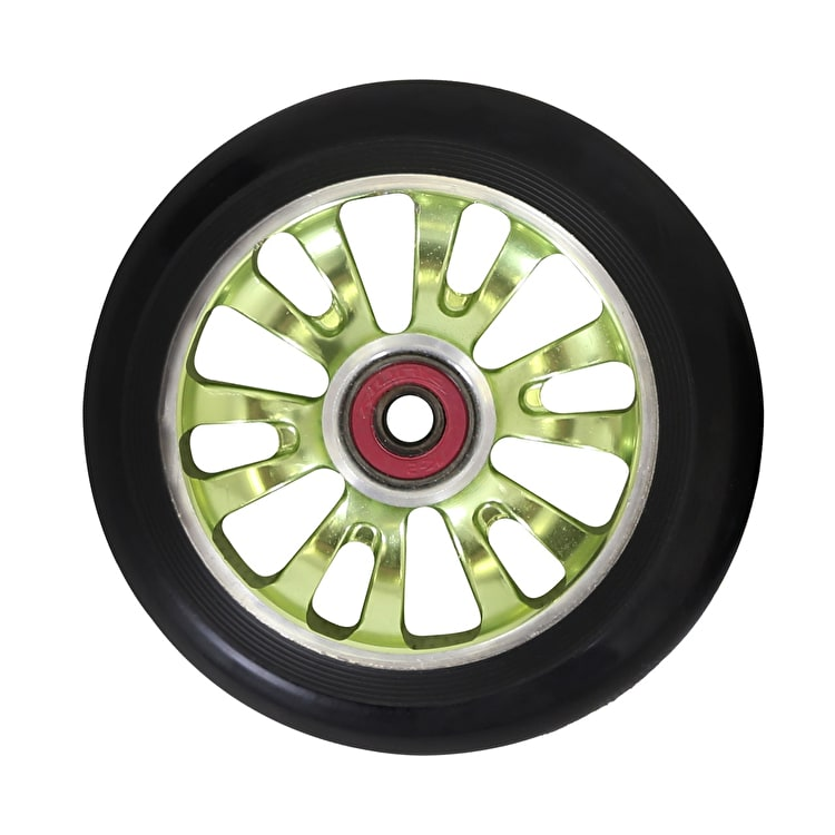 "MGP ""Vicious"" Scooter Wheel - Green/Black 110mm"