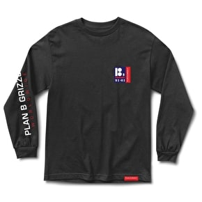 Grizzly Certified Long Sleeve T-Shirt - Black
