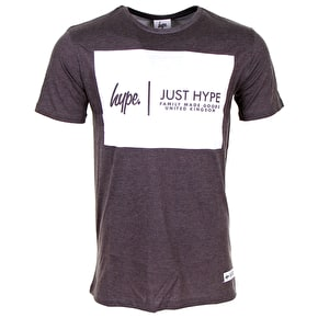 Hype Panel Logo T-Shirt - White
