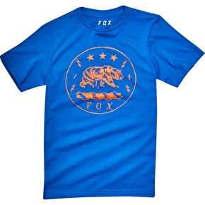Fox Youth Revealer T-Shirt - True Blue