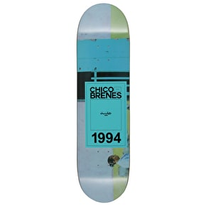 Chocolate Inaugural Brenes Skateboard Deck - 8.375