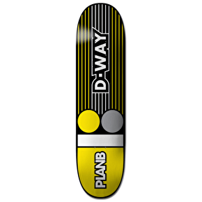 Plan B Lines Pro Spec Skateboard Deck - Way 8.25