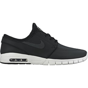 Nike Stefan Janoski Max Suede Shoes - Black/Anthracite/Hype Pink