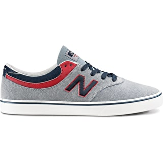 New Balance Quincy 254 Skate Shoes - Steel