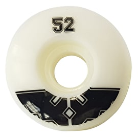 Fracture Uni Pro 100a Skateboard Wheels - Black 52mm