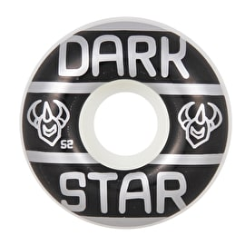 Darkstar Grand Skateboard Wheels - Black/White 52mm