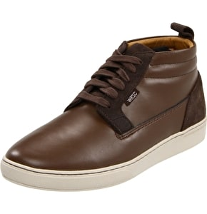WeSC Lifestyle Hagelin Shoes - Brown Leather UK 8 (B-Stock)