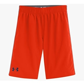 Under Armour Boy's Edge Shorts - Volcano