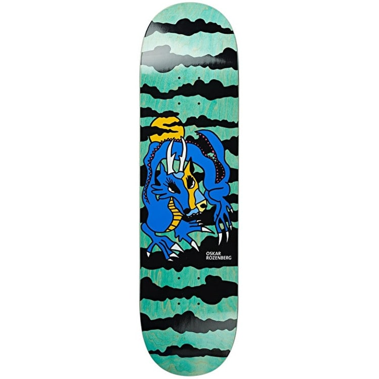 Polar Dragon Sunset Skateboard Deck - Rozenberg 8.25""