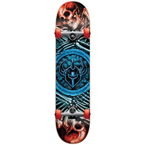 Darkstar Remains Soft Wheel Kids Complete Skateboard w/Stocking - Blue Fade 7