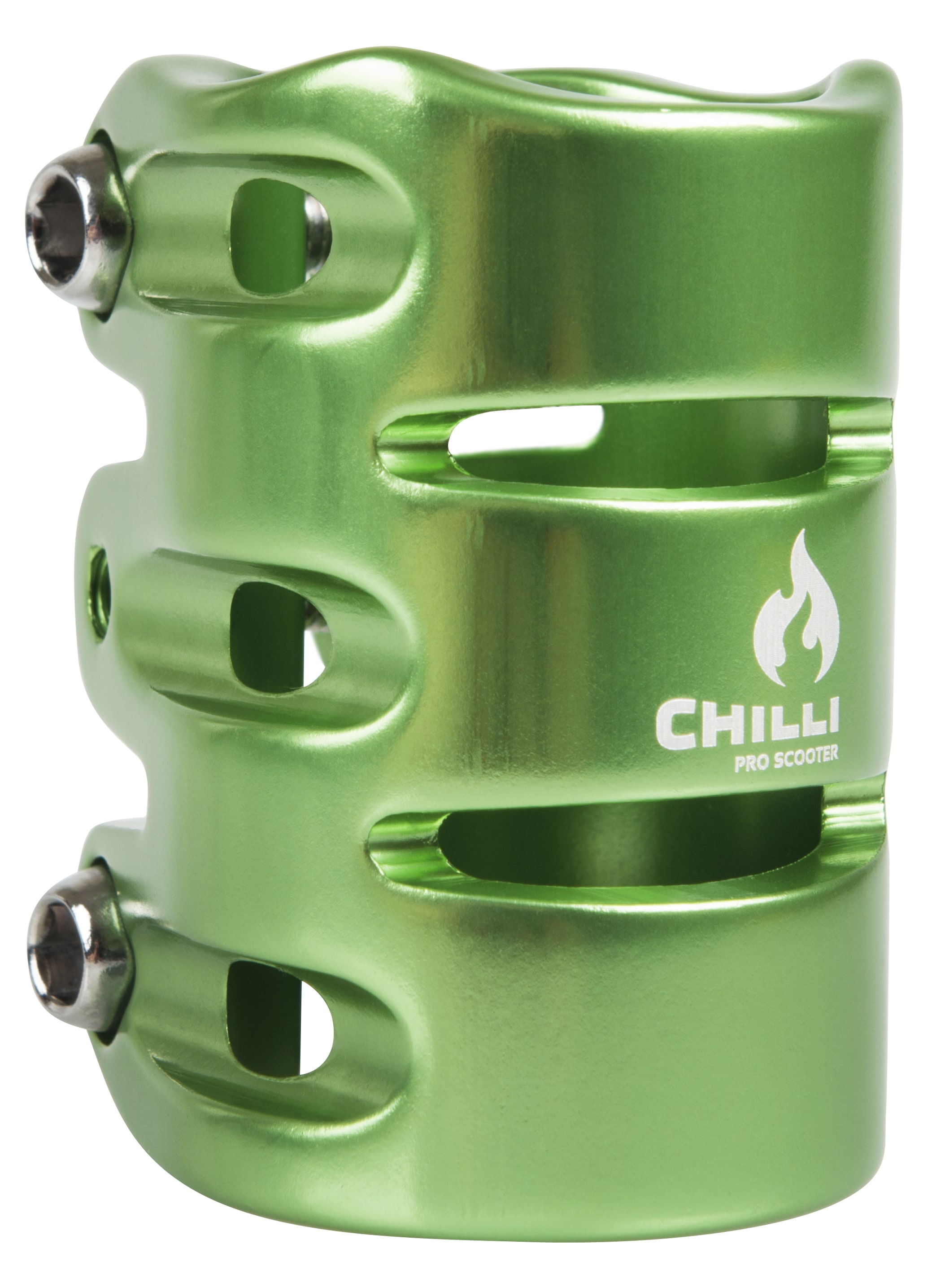 Image of Chilli Pro HIC 3 Bolt Scooter Clamp - Green