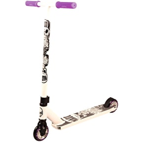 Madd Hatter Kick Extreme II Complete Scooter - White