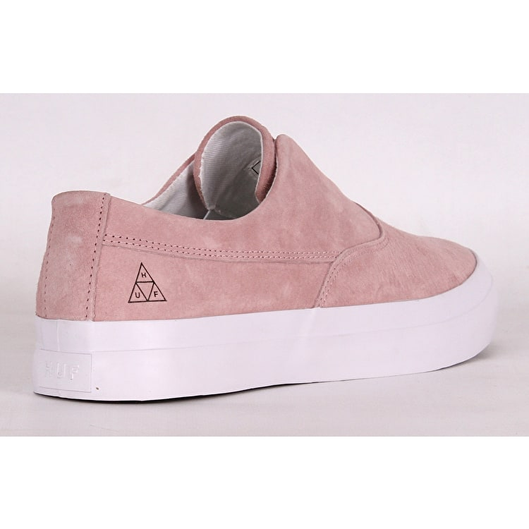 Huf Dylan Slip On Skate Shoes - Pink