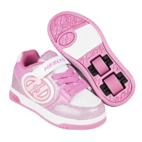Heelys X2 Plus - Light Pink/White