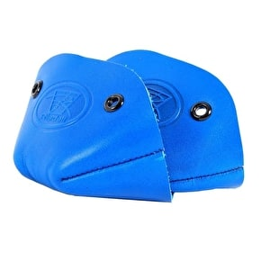 Riedell Leather Toe Cap- Ultra Blue