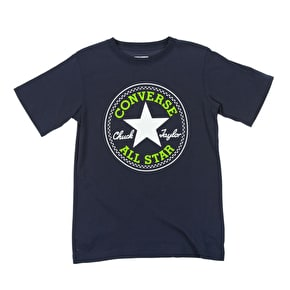 Converse Chuck Patch Kids T-Shirt - Navy