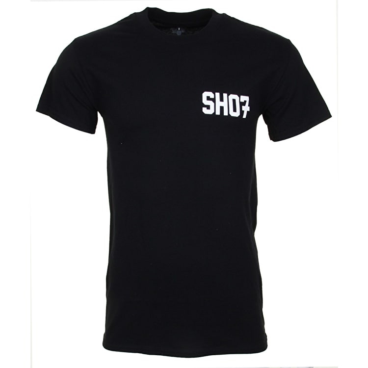 SkateHut Varsity Kids T-Shirt - Black