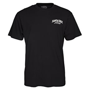 Santa Cruz HQ T-Shirt - Black