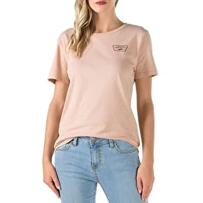 Vans Full Patch Womens T-Shirt - Mahogany Rose