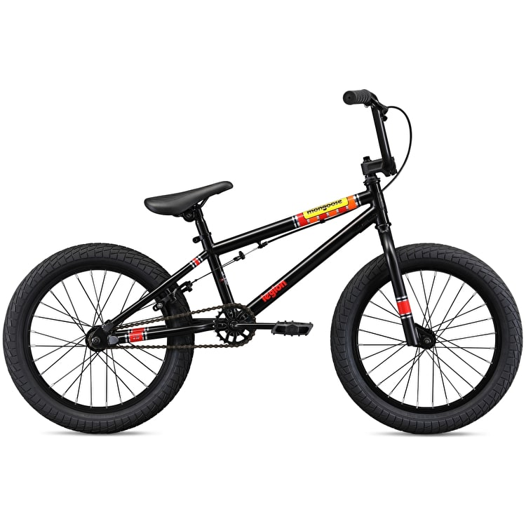 "Mongoose 18"" Legion L18 2019 Complete BMX - Black"