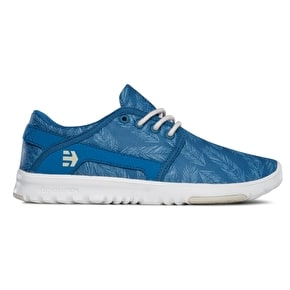 Etnies Scout Womens Shoes - Blue/Green