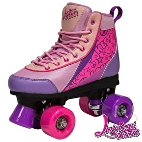 Luscious Retro Quad Roller Skates - Pure Passion