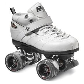 Sure-Grip Rock GT-50 Quad Rollerskates- White