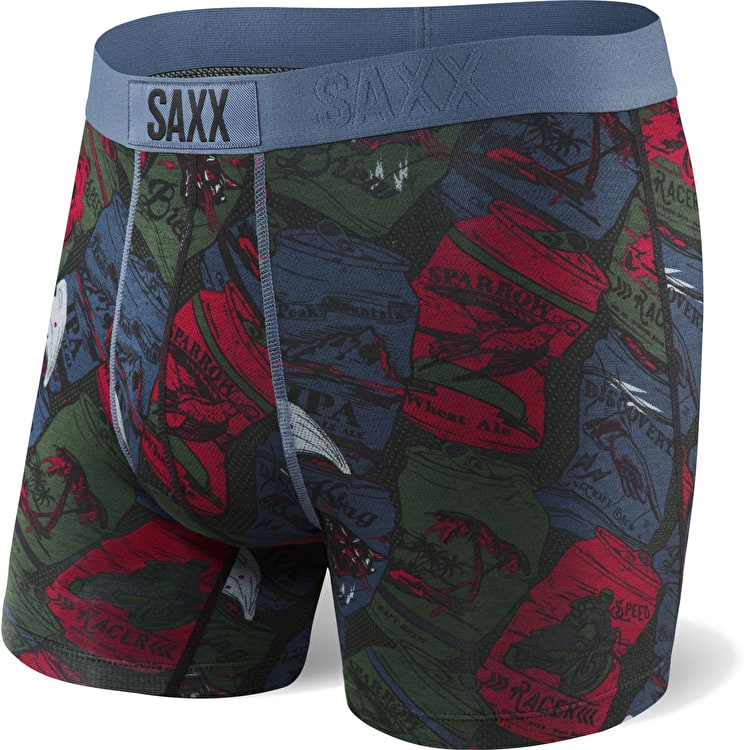 Saxx Vibe Boxers - Day Drinking