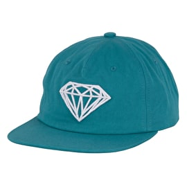 Diamond Supply Co Brilliant Unstructured Snapback Cap - Blue