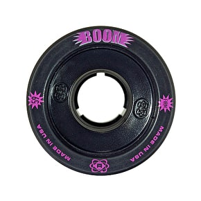 ATOM Boom Hollow Core 59mm Quad Derby Wheels (4pk) Black (Firm)