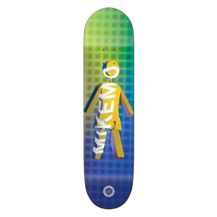 Girl Future Projections Skateboard Deck - Mike Mo 7.75""