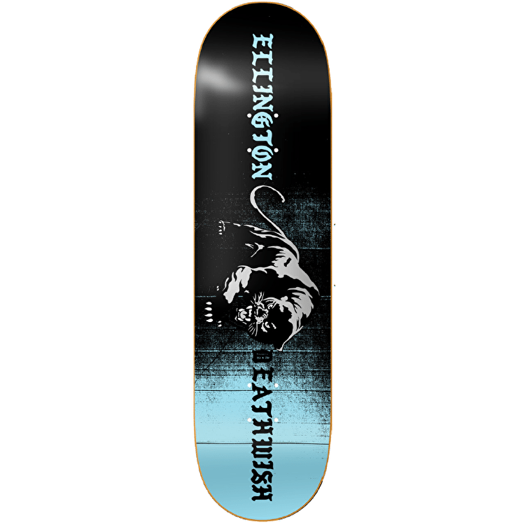 Deathwish Panther Skateboard Deck - Ellington 8""