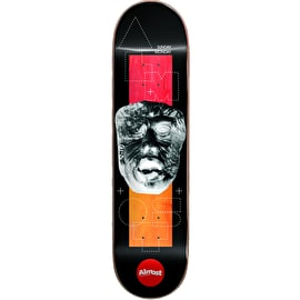 Almost Stone Head Invert Impact Light - Daewon Song Skateboard Deck 8