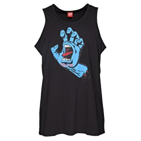 Santa Cruz Screaming Hand Tank Top - Black